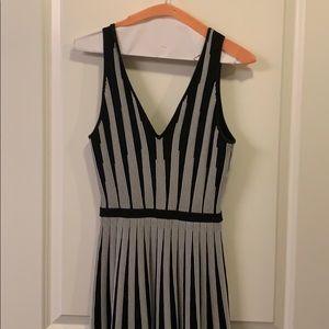 Guess XS swing dress with bandage style fabric